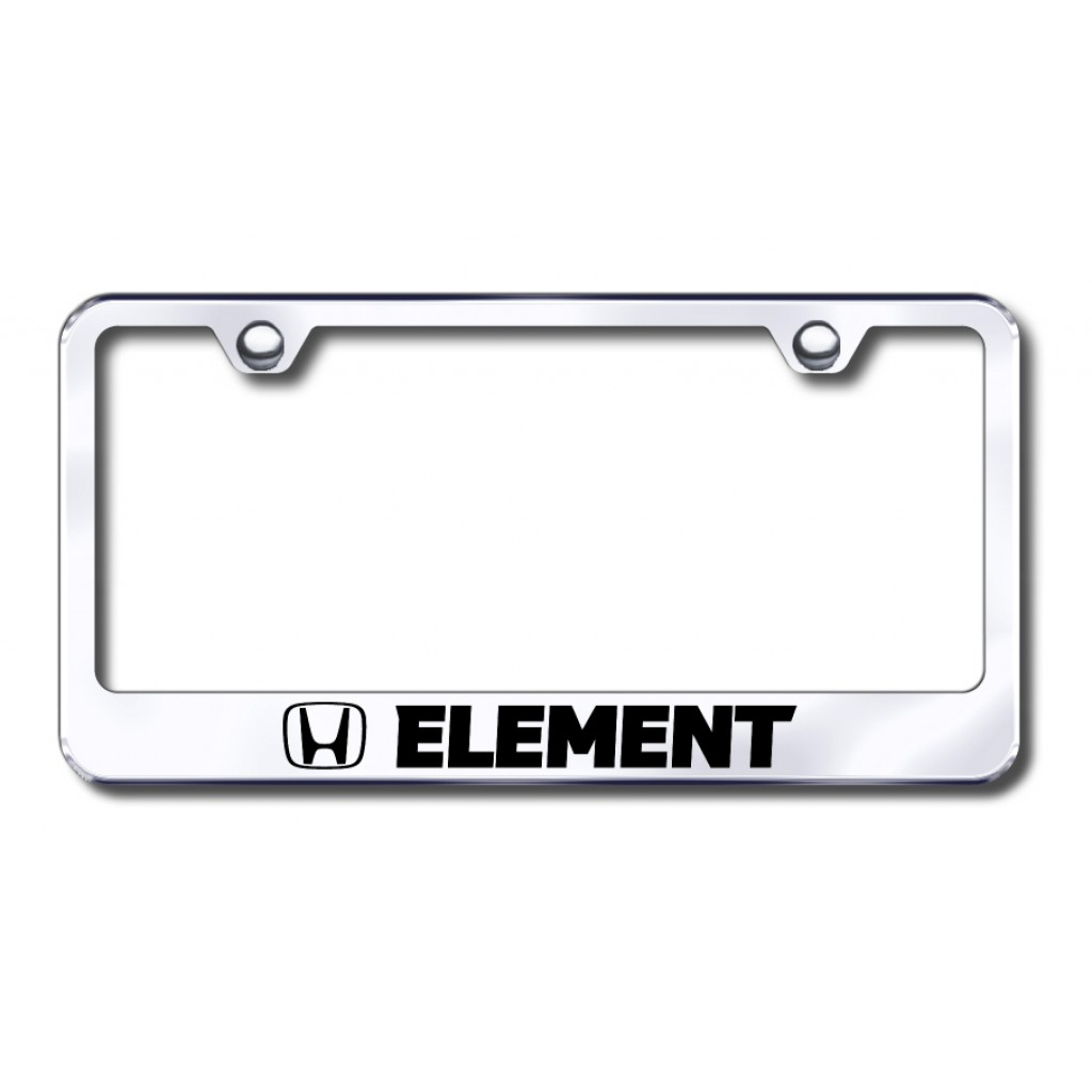 Honda Genuine Accessories Carbon Fiber License Plate Frame