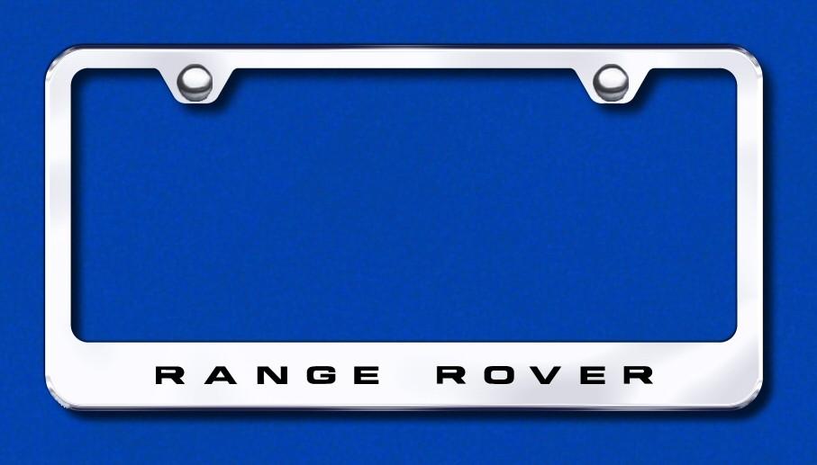 Land Rover Range Rover Custom License Plate Frame